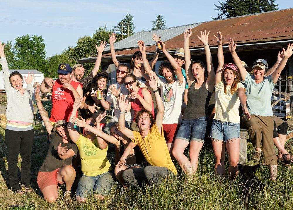 The 47th Avenue Farm Crew!