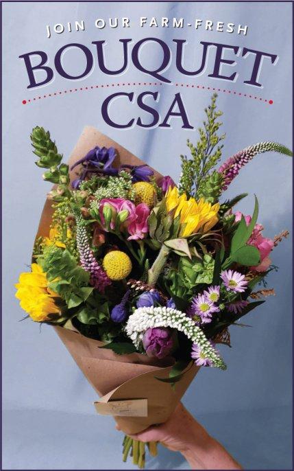 47th Avenue Farm Flower Bouquet CSA